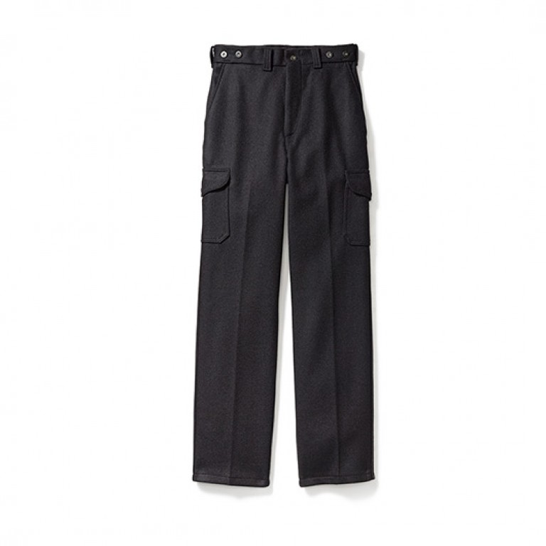 filson black mackinaw field pants