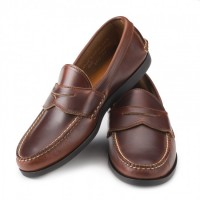 rancourt and company brown pinch penny loafers