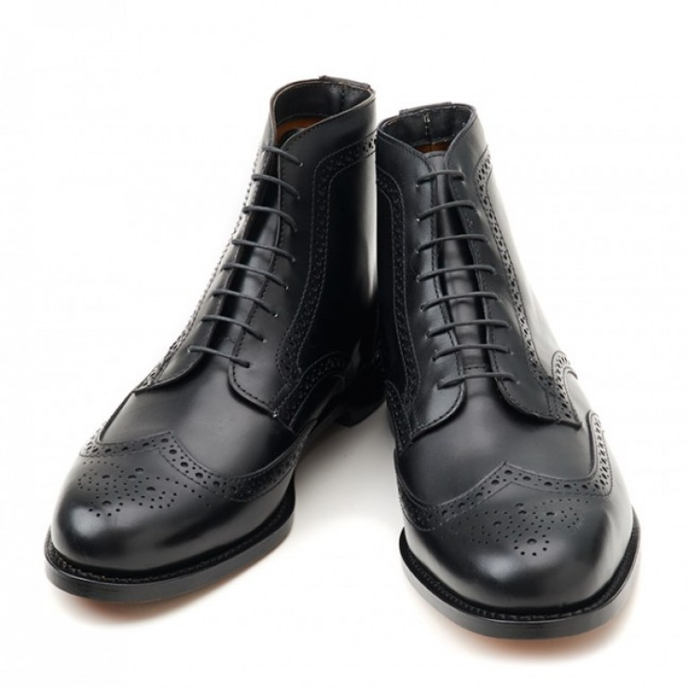 rancourt and company blake wingtip boot black