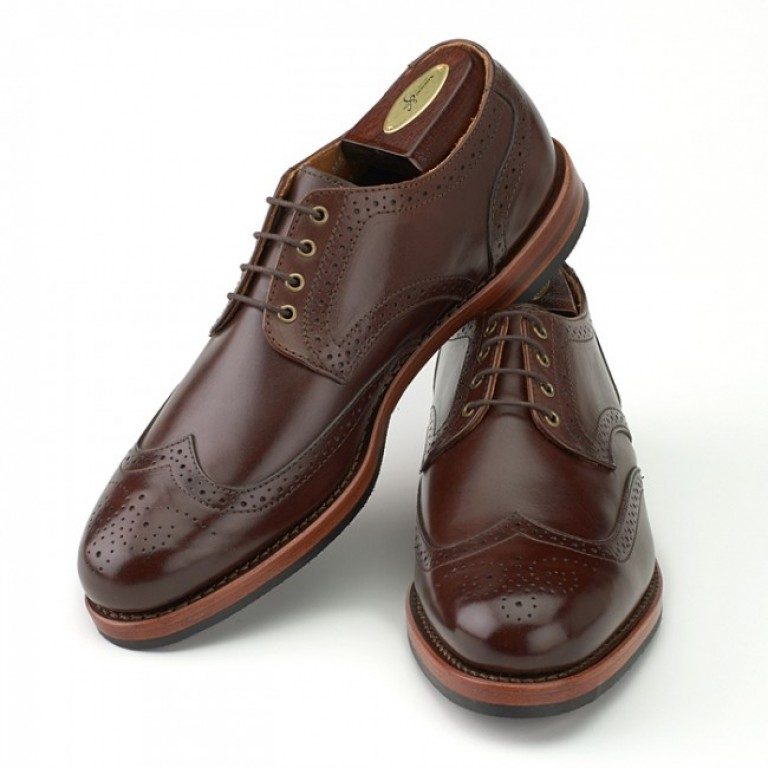 rancourt and company danforth wingtip calfskin shoes