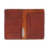 Iron and Resin - Bags and Wallets - Explorer Wallet Brown