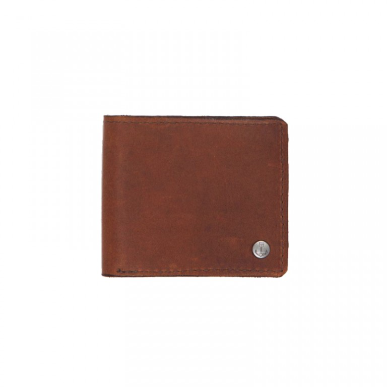Iron and Resin - Bags and Wallets - Tucker Wallet Brown