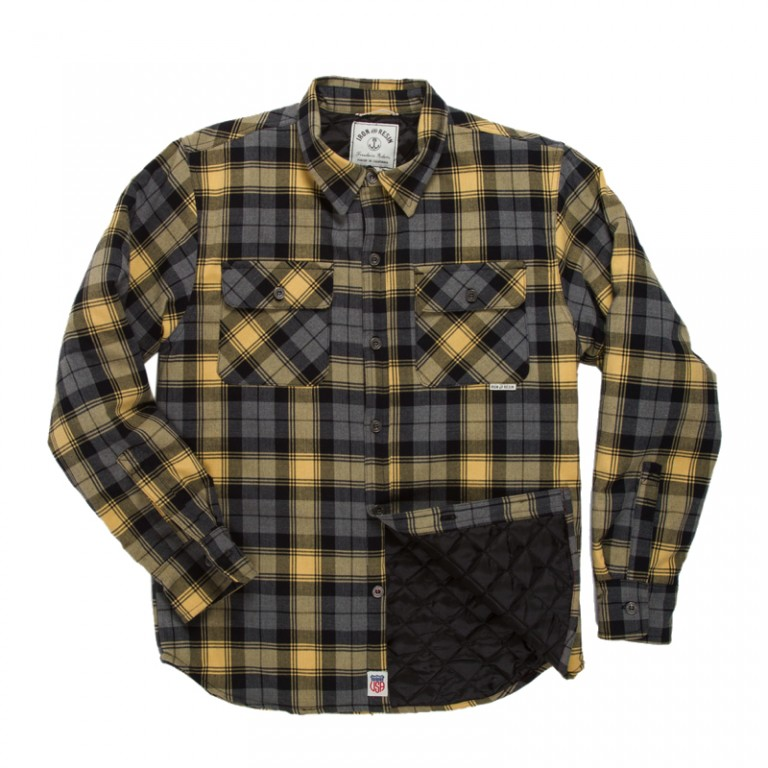 Iron and Resin - Casual Button-Down Shirts - INR Carpenter Shirt Yellow