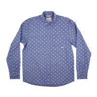 Iron and Resin - Casual Button-Down Shirts - INR Herrera Shirt Indigo