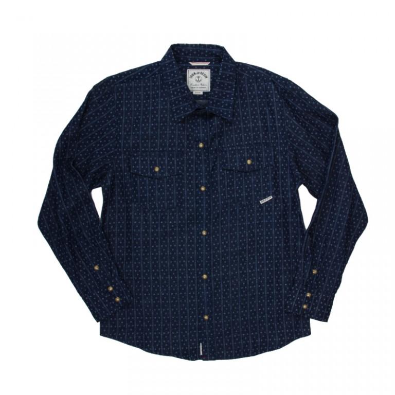 Iron and Resin - Casual Button-Down Shirts - Ketchum Shirt Indigo