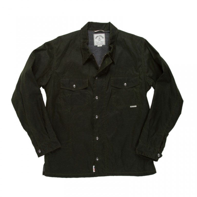 Iron and Resin - Coats and Jackets - Shelter Shirt Jacket Olive