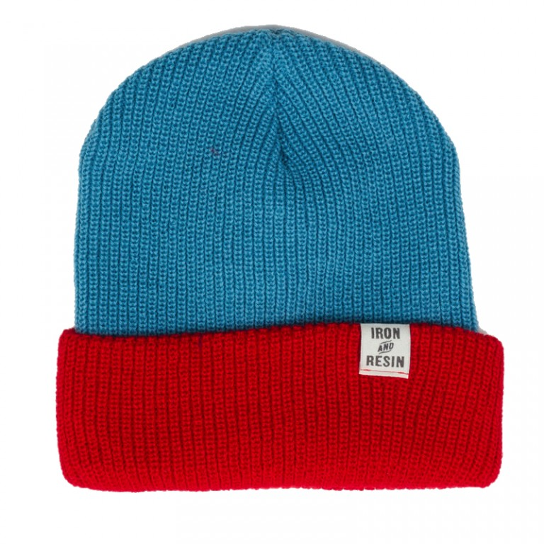 Iron and Resin - Scarves, Hats and Gloves - Annex Beanie Aqua Blue