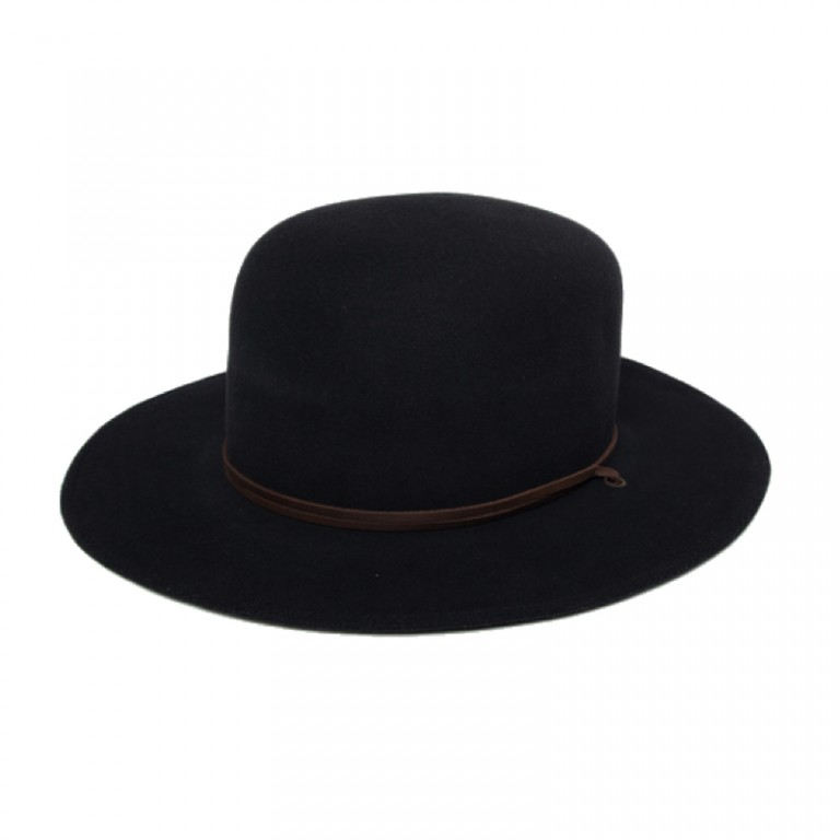 Iron and Resin - Scarves, Hats and Gloves - Ranchero Hat Black