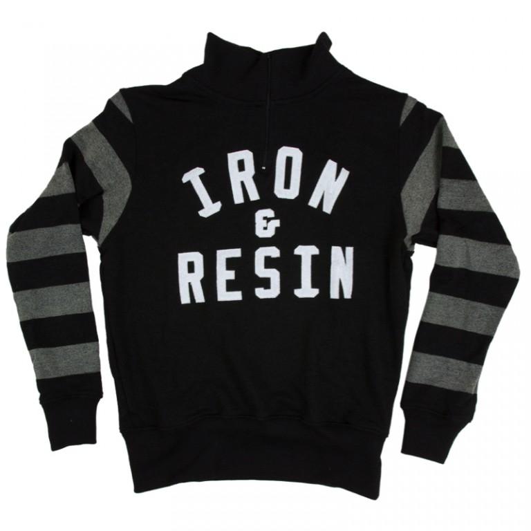 Iron and Resin - Sweaters - Daytona Sweater Black Stripe