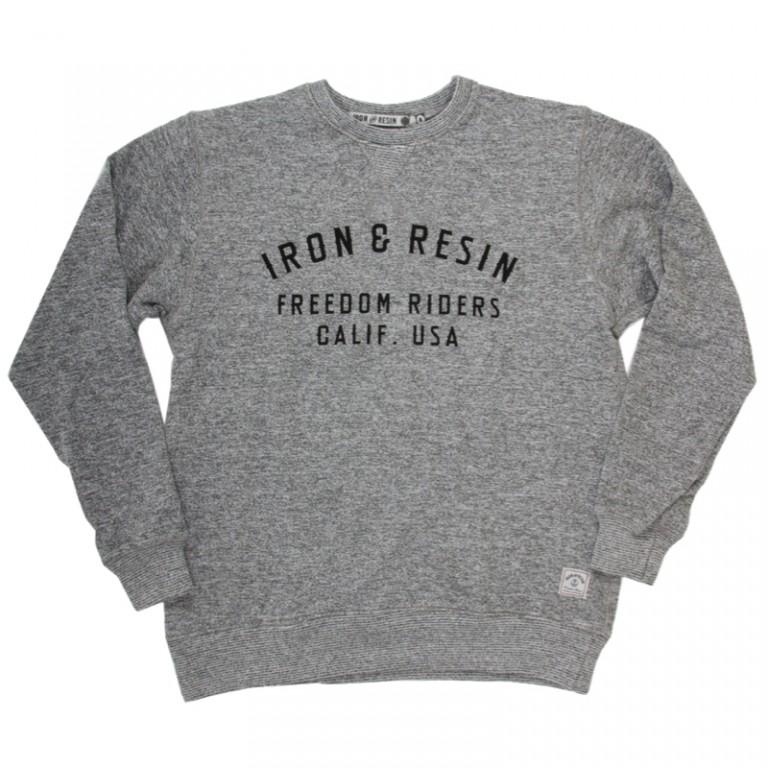 Iron and Resin - Sweatshirts - MC Crew Fleece Heather Gray