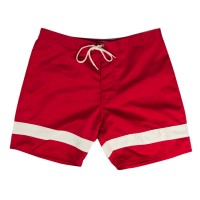 Iron and Resin - Swimwear - INR X Bruce Brown Films Hollow Dats Boardshort Red