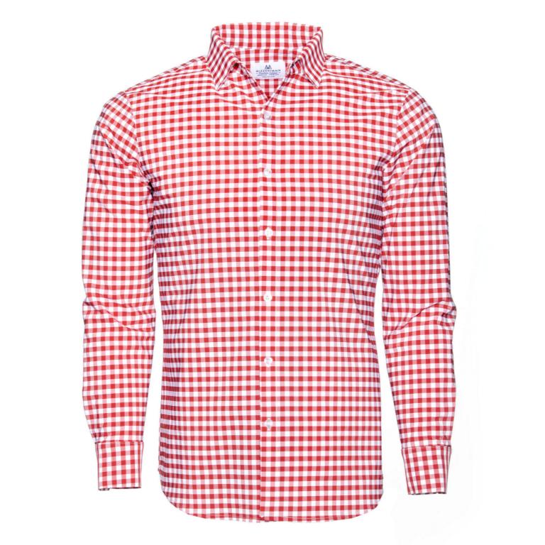 Mizzen+Main - Dress Shirts - Hatteras Red Check Dress Shirt
