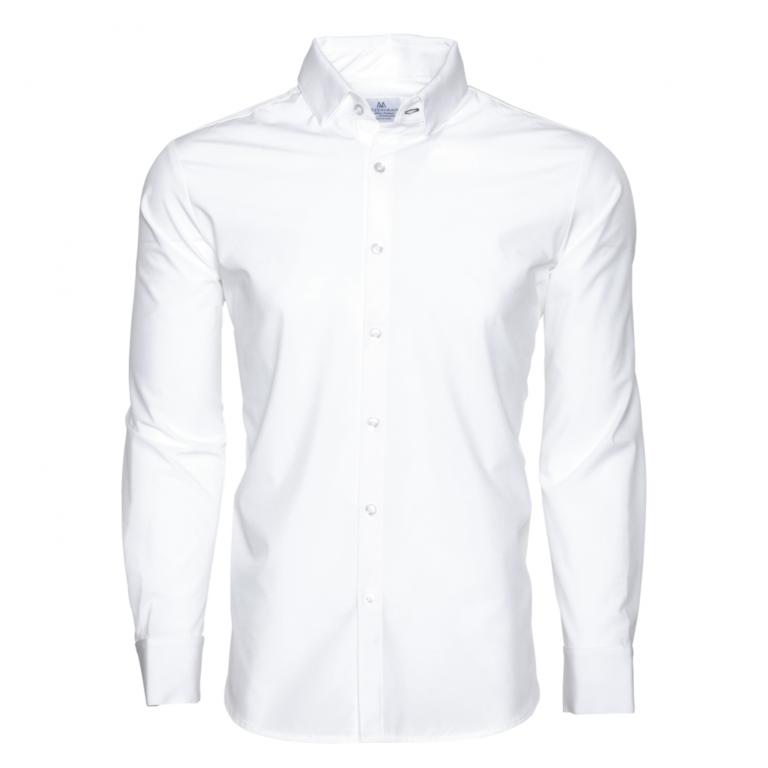 Mizzen+Main - Dress Shirts - Manhattan Solid White Dress Shirt