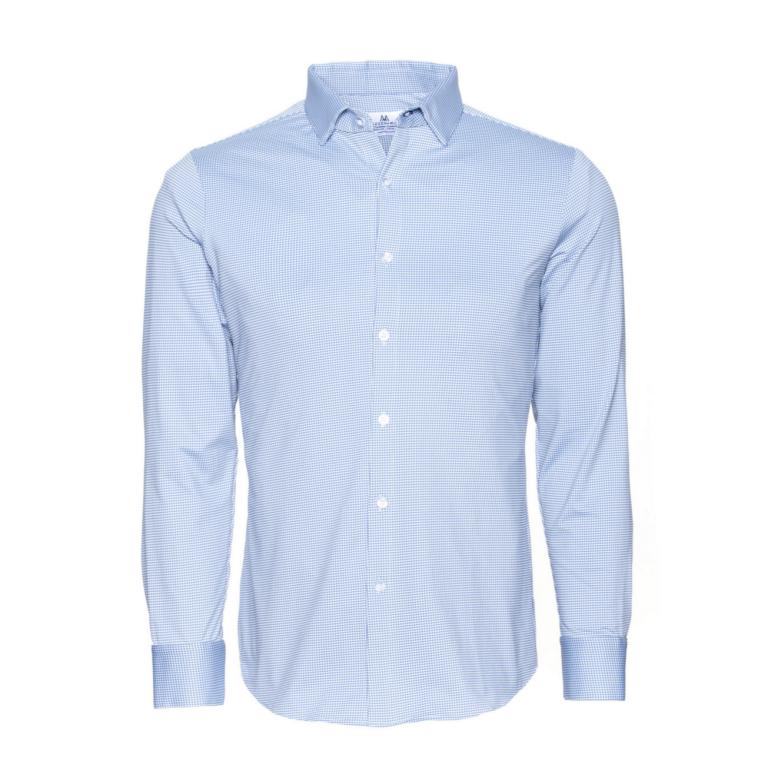 Mizzen+Main - Dress Shirts - Mccoy Slate Blue Dress Shirt