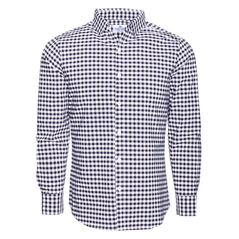Mizzen+Main - Dress Shirts - Montalk Blue Check Dress Shirt