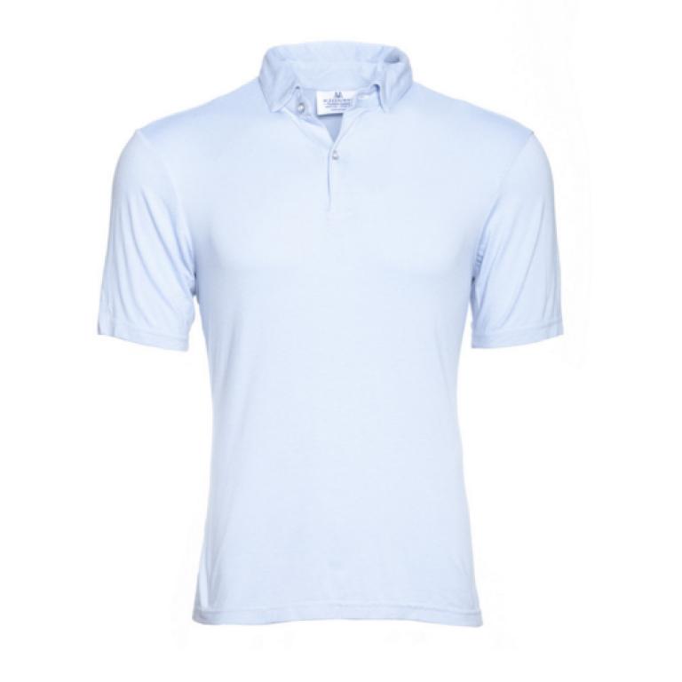 Mizzen+Main - Polos - Count Fleet Light Blue Polo