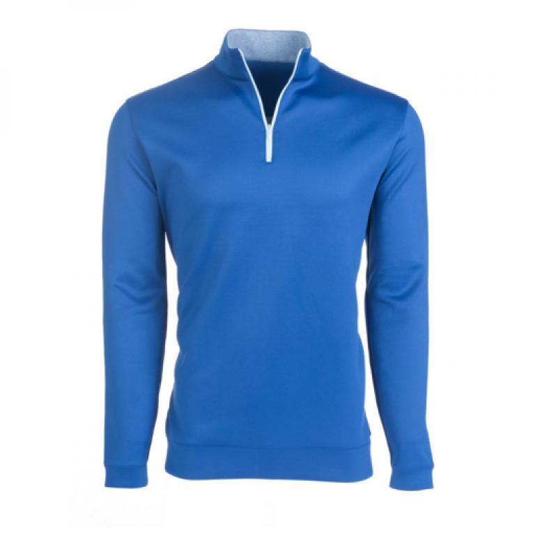 Mizzen+Main - Sweaters - Aspen Dark Blue Quarter Zip