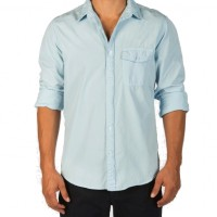 Save Khaki United - Casual Button-Down Shirts - L-S Poplin Work Shirt