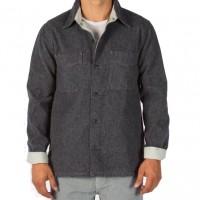 Save Khaki United - Coats and Jackets - Herringbone CPO Jacket