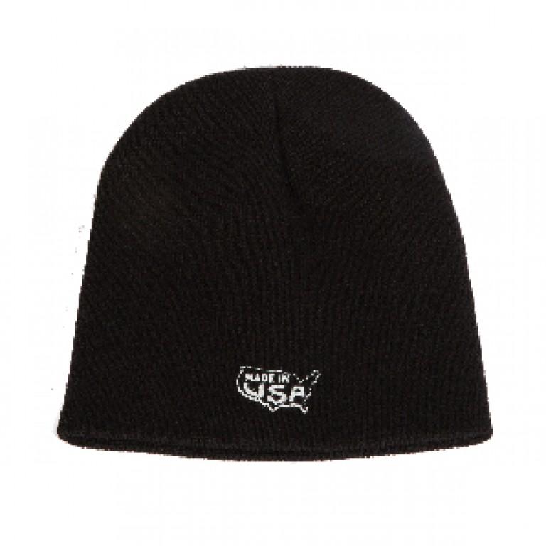Save Khaki United - Hats - Beanie Cap w Made in USA Print