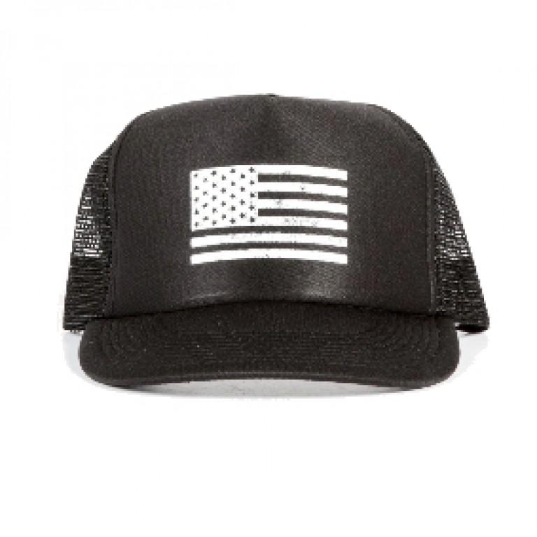 Save Khaki United - Hats - Flag Print Trucker Hat