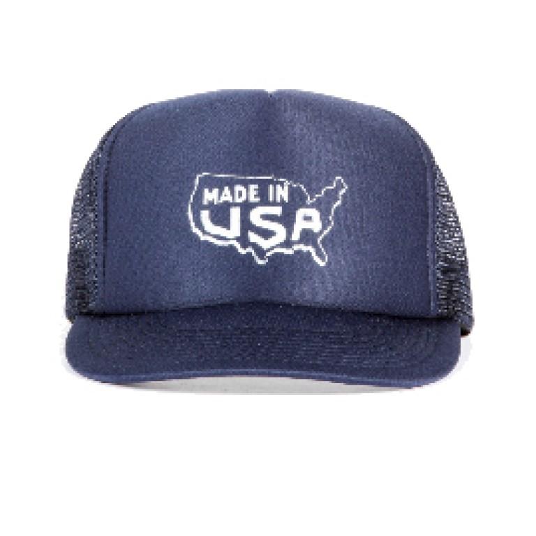 Save Khaki United - Hats - Map Print Trucker Hat