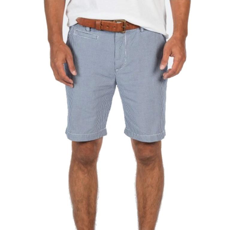 Save Khaki United - Shorts - Gingham Bermuda Short