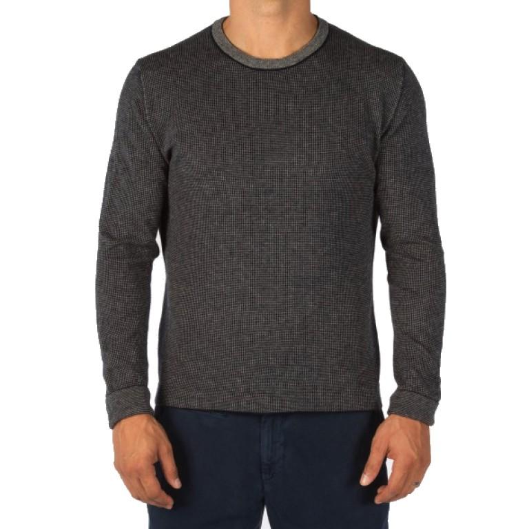 Save Khaki United - Sweaters - L-S Birds Eye Crew Sweater