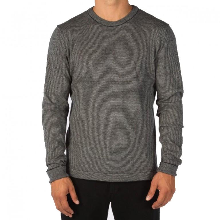 Save Khaki United - Sweaters - L-S Stripe Crew Sweater