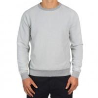 Save Khaki United - Sweatshirts - L-S Heather Fleece Crew Sweatshirt