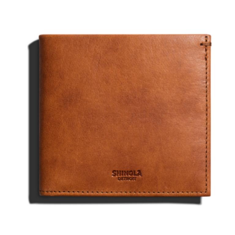 Shinola - Wallets and Bags - Hipster Wallet Tan