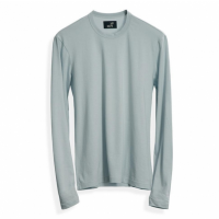 Todd Shelton - T-Shirts - Pale Aqua Long Sleeve Crew