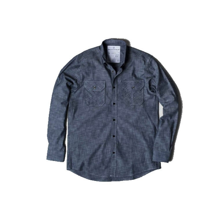 United by Blue - Casual Button-Down Shirts - Ayres Chambray