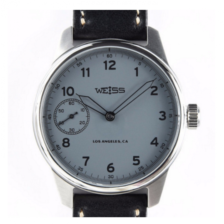 Weiss Watch Company - Watches - Weiss Special Issue Field Watch Carbon Dial