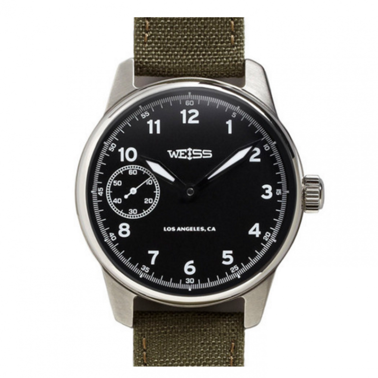 Weiss Watch Company - Watches - Weiss Standard Issue Field Watch Black Dial