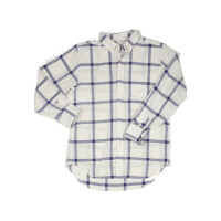Haspel - Casual Button-Down Shirts - Constance Midnight Windowpane