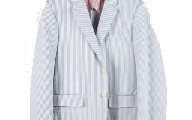 Haspel - Suits and Sport Coats - Gravier Sportcoat Blue Seersucker
