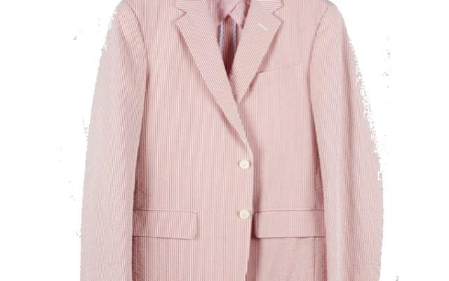 Haspel - Suits and Sport Coats - Gravier Sportcoat Red Seersucker