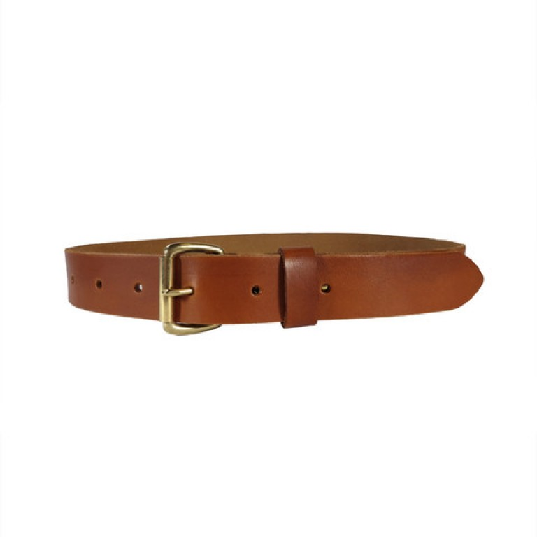 red clouds collective saddle tan classic leather belt