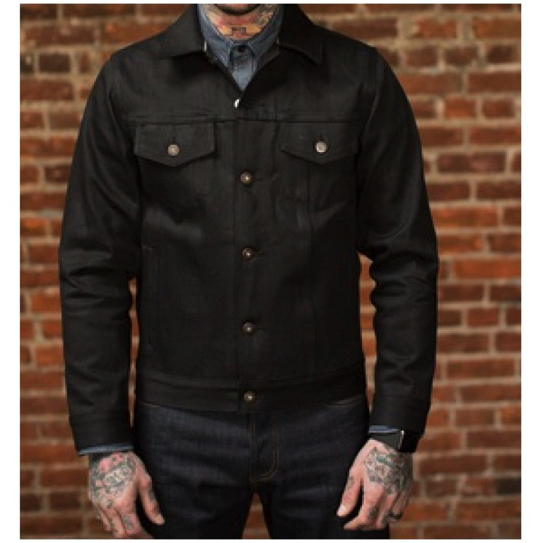 tellason japanese selvedge denim jacket