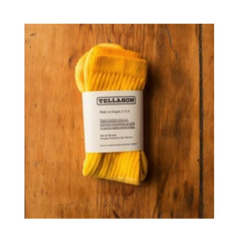 tellason osage dyed crew socks