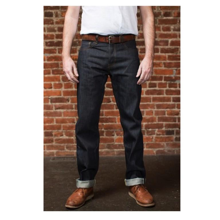 tellason sheffield straight tapered jeans