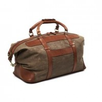 allen edmonds canvas leather duffle