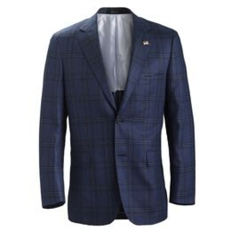 allen edmonds blue james glen blue james glen plaid sport coat