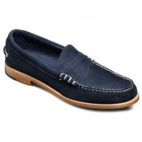 allen edmonds sea island suede loafers