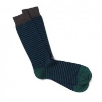 allen edmonds stripe heather cotton fashion socks