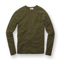Buck Mason - Sweatshirts - Raglan Sweatshirt Olive