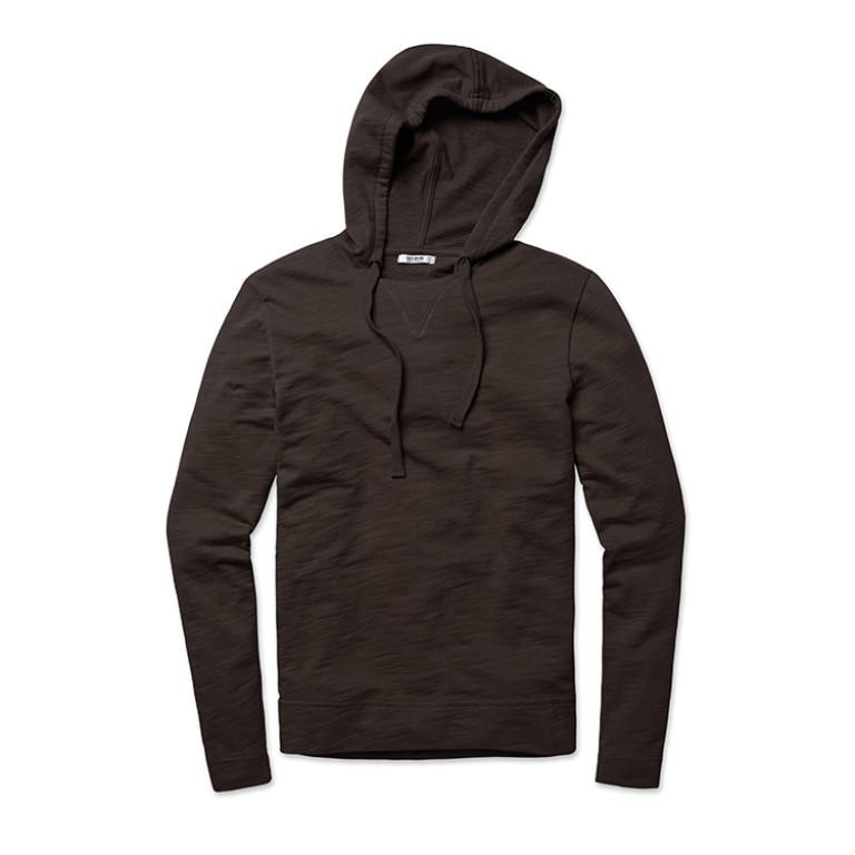 Buck Mason - Sweatshirts - Slub Hoodie Charcoal