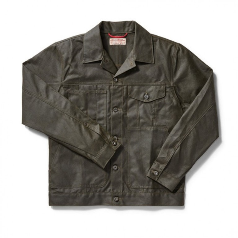 Filson - Coats & Jackets - Short Cruiser Dark Otter Green