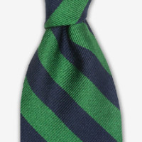Images_Gitman Bros - Ties and Pocket Squares - Woven Repp Stripe Tie Green - 5.11.15